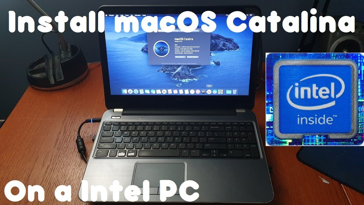 How To: INSTALL MACOS CATALINA ON A PC THE EASY WAY!