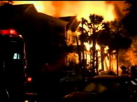 Major Fire In Downtown Charleston Sc Youtube