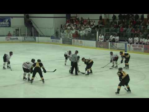 Boy's Hockey East v West 2017-02-11