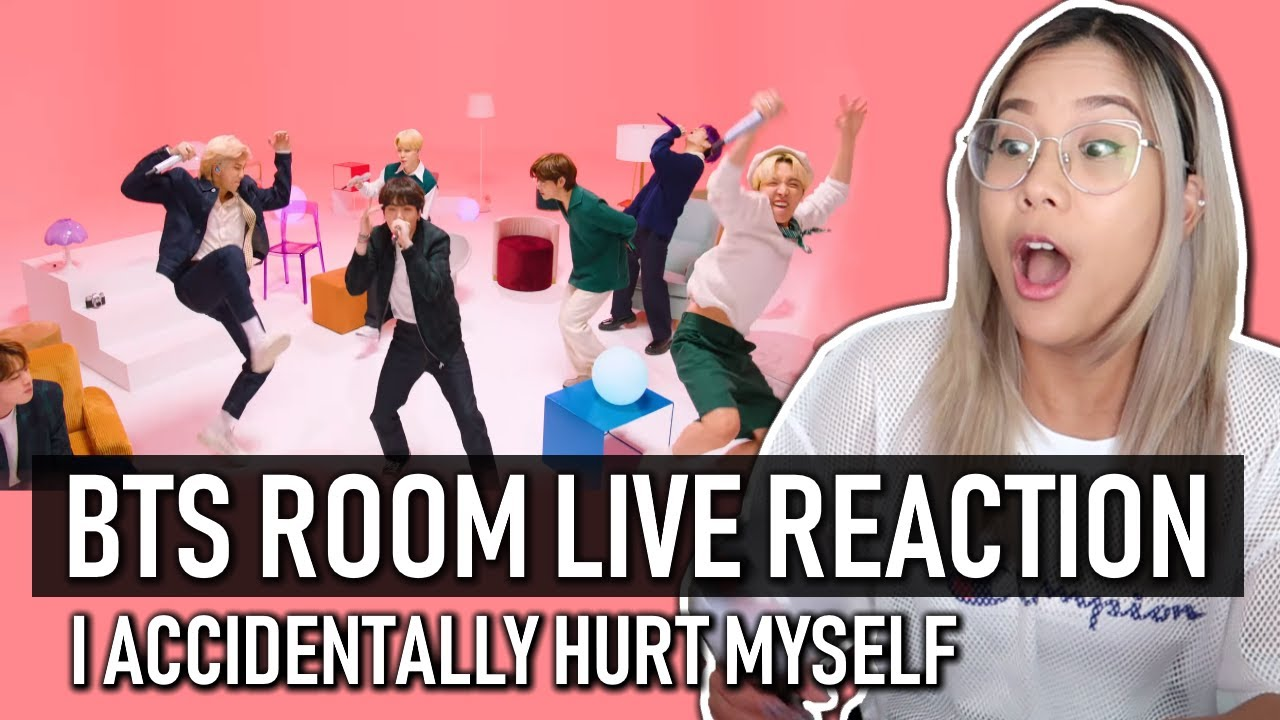 BTS (방탄소년단) BTS ROOM LIVE | I accidentally hurt myself LOL #2021BTSFESTA