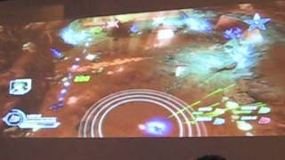 Voltron Defenders of the Universe NYCC 2011 Gameplay Footage