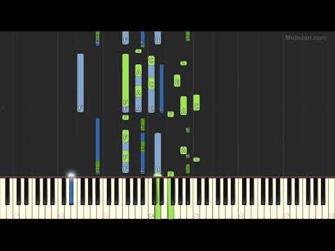 Enya - Marble Halls (Piano Tutorial) [Synthesia]