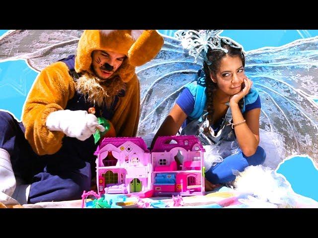 نطنط وأرنوب | بيت بيوت | Doll House