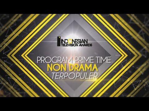 Cover Lagu Nominasi Indonesian Television Awards Program Primetime Non Drama Dan Drama Terpopuler