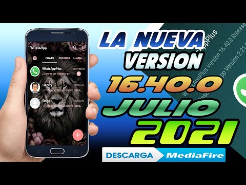 WhatsApp Plus JULIO 2021 Ultima Versin 16400 WhatsApp Plus ACTUALIZADO LINK DIRECTO MEDIAFIRE