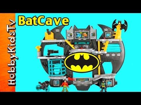 Imanginext DC Super Friends Batman's Batcave Explore! HobbyKidsTV