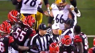 Adam 'Pacman' Jones Pushes Steelers Coach, Starts Fight