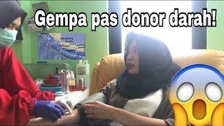Download Video iVlog #6 Gempa Bumi pas Donor Darah MP3 3GP MP4