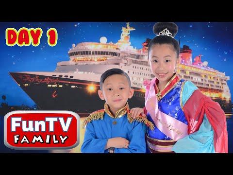 Disney Cruise Adventure Day 1 - FunTV Family Vacation