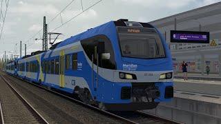 LET`S PLAY Train SimuĮator 2021 / Meridian (Stadler Flirt 3) nach Rosenheim / München Rosenheim V2