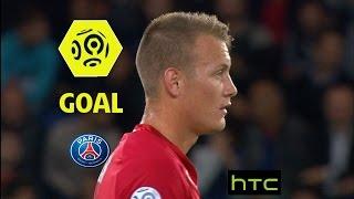 Goal Adam LANG (15' csc) / Paris Saint-Germain - Dijon FCO (3-0)/ 2016-17