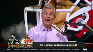 Colin Cowherd REACT to Do Saints and Chiefs only have themselves to blame for OT losses - THE HERD