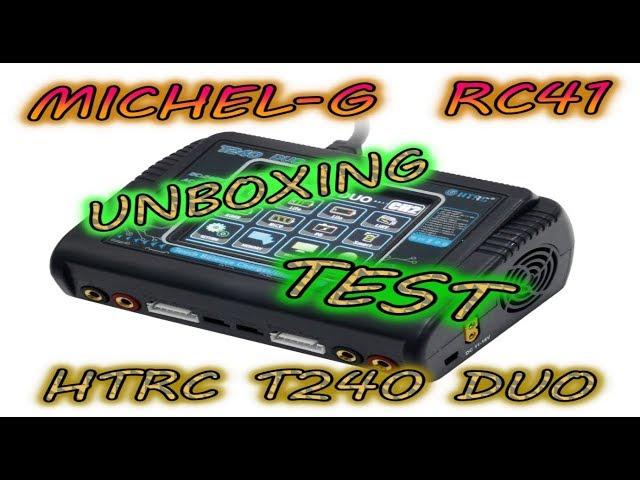 Chargeur HTRC T240. Un Chargeur Duo vraiment perfoment de 2S a 6S