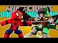 SPIDERMAN HOMECOMING MOD Hulk el hombre de acero en minecraft Minecraft mod 1.11.2 Review