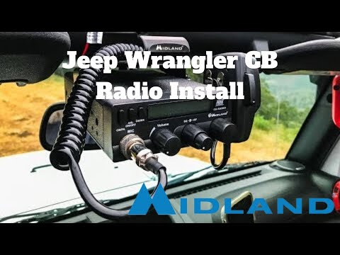 How to Install a CB Radio in Jeep Wrangler