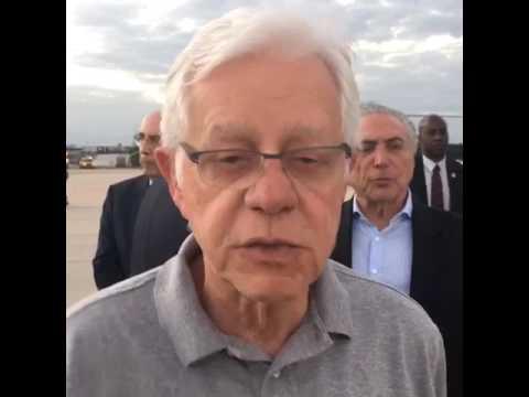 Ministro Moreira Franco fala das operações de apoio à segurança do RJ