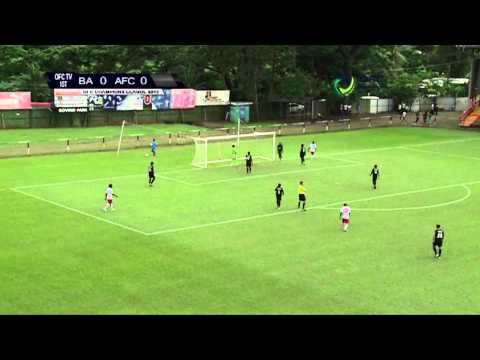 2013 OFC Champions League / 2013.04.27 / Ba FC vs Amicale FC Highlights
