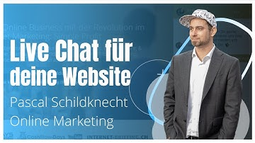 Online Live-Chat für Website - Website Messenger - Deutsch / Drift
