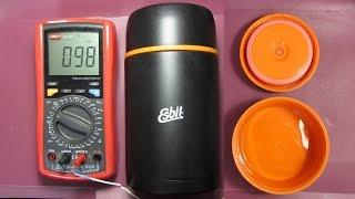 Обзор + тест термоса для еды Esbit FJ1000ML (017.0035)