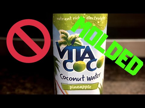 MOLDED COCONUT WATER‼️🤮