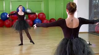 Уроки балета в «Магис Спорт» PLAZA: танец + фитнес