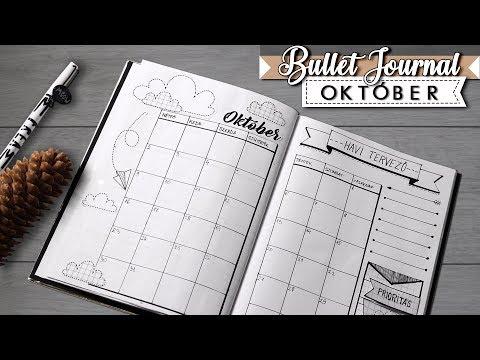 Bullet Journal [MAGYAR] 2017 Október / Bullet Journal DIY +Printables