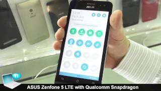 ASUS Zenfone 5 LTE A500KL with Qualcomm Snapdragon