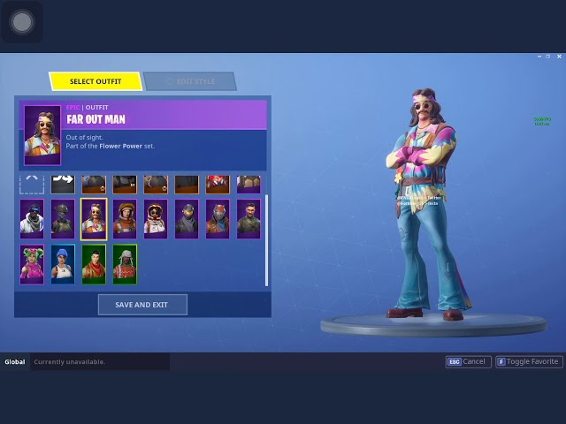 NEW LEAKED SKIN Called FAR OUT MAN Coming To FORTNITE BATTLE ROYALE