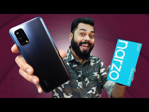 realme Narzo 30 Pro 5G Unboxing And First Impressions ⚡ Dimensity 800U,5000mAh, 5G And More