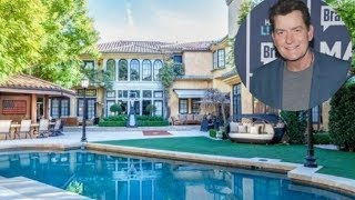 Charlie Sheen is Selling His Mediterranean Style Beverly Hills Home $10M  - 2018
