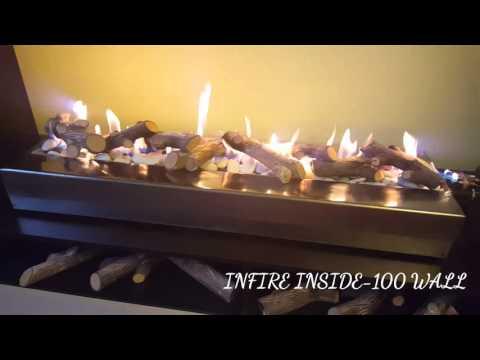 Газовый камин INFIRE INSIDE-100 wall
