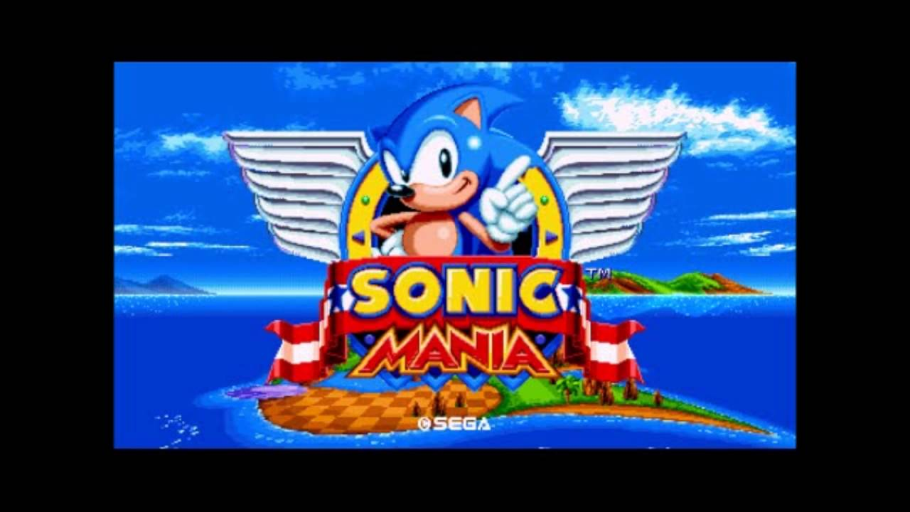 Download Link Sonic Mania Ost Music 1 Title Screen Youtube