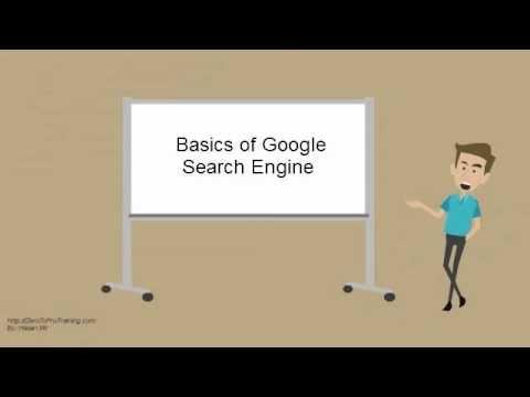 Basics of Google Search Engine