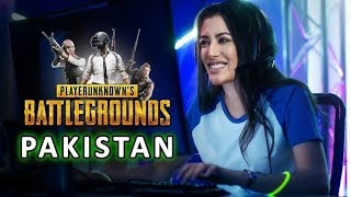 Pakistani Pro Girl Gamer  Pubg Mobile First Game play