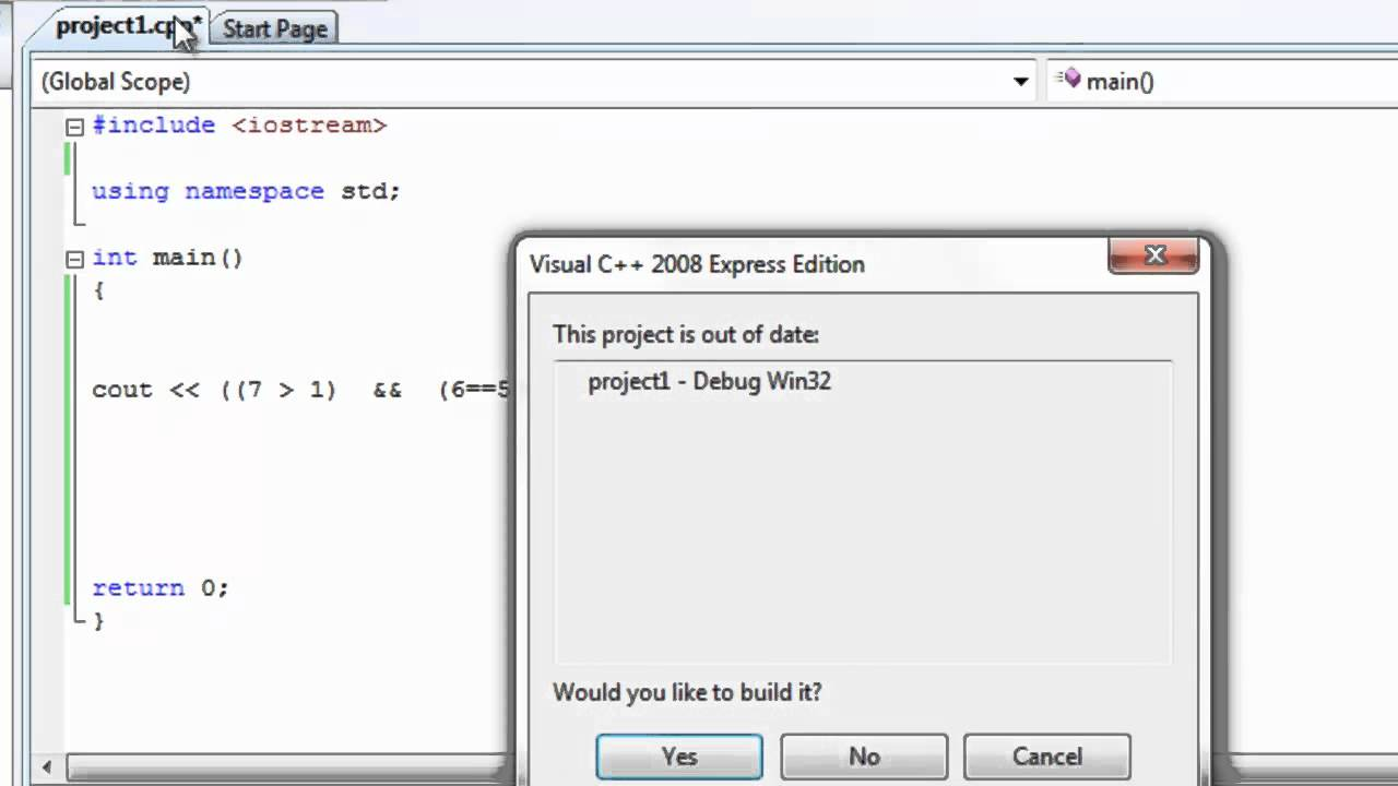 Learn programming now 18 ( Compound boolean expressions C++)