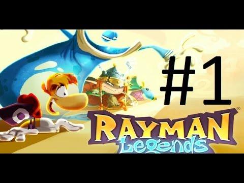 [PS3]Rayman Legends  Прохождение #12 Кооператив