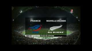 Rugby a XV - France - Nouvelle Zelande  1ere mi-temps.test-Match - 28.11.2009) French.