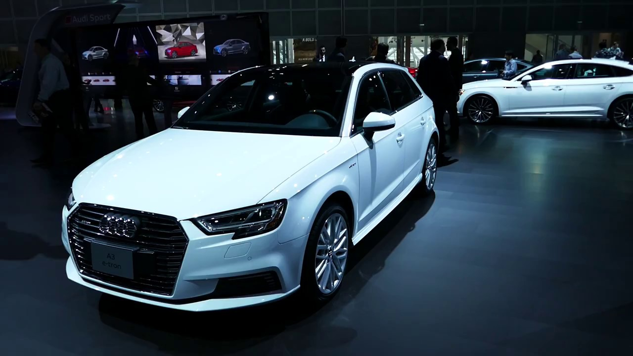New 2018 Audi A3 E Tron Luxury Station Wagon Exterior Tour 2017 La Auto Show Los Angeles Ca