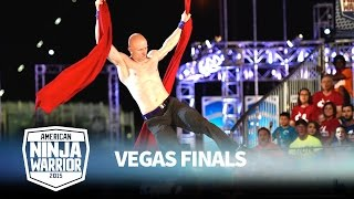 Download Kevin Bull at the Vegas Finals: Stage 1 | American Ninja Warrior Mp3 and Videos