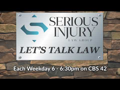 Let's Talk Law - Serious Injury Law Group