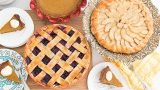 3 DELICIOUS THANKSGIVING PIES