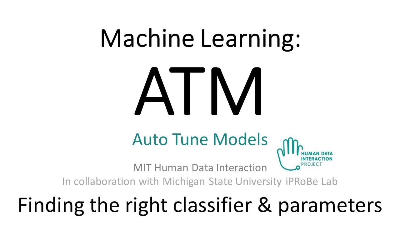 Python: Machine Learning with ATM