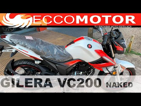 Nueva Gilera VC 200 Naked (FOTOS) - YouTube