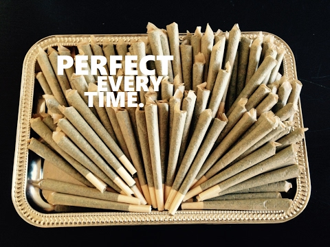 HOW TO ROLL A JOINT IN 60 SECONDS
