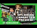 ★ Disney Crossy Road PIRATES OF THE CARIBBEAN DEAD MEN TELL NO TALES Preview (All Characters)
