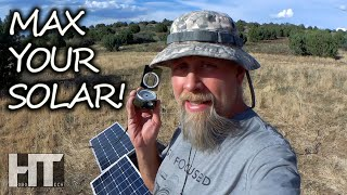 Get MAXIMUM POWER From Your SOLAR PANELS With This Simple Free Solar Tech Hack!