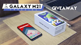 Samsung Galaxy M21 - Unboxing & Giveaway (48MP Triple Cam | 6000 mAh | 12,999)