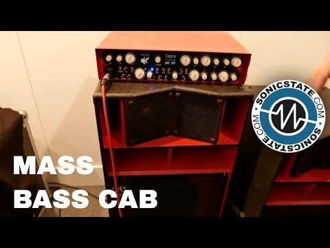 MESSE 2017: Impressive Bass Speaker Cabs from MAS
