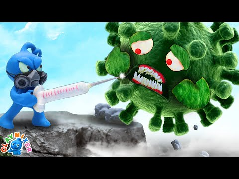 Tiny Says Goodbye to Devious Infection - Stop Motion Animation Short Film