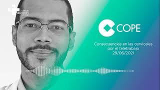COPE | El traumatólogo Elías Javier habla sobre las consecuencias en cervicales por el teletrabajo
